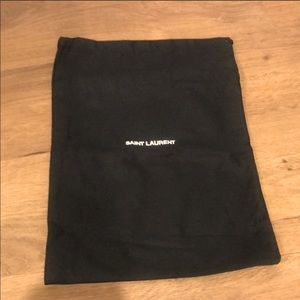 Saint Laurent Dust Bag